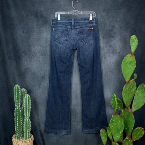 7 For All Mankind Denim - Seven 7 For All Mankind Dojo Flare Leg Jeans 28